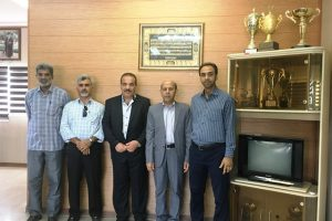 دیدار رئیس انجمن جت اسکی و جت بُت جمهوری اسلامی ایران با مدیرکل ورزش وجوانان هرمزگان