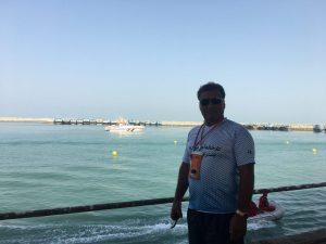 حضور مجید اشرفی مربی تیم ملی در مسابقات اسلالوم انتخابی جاکارتا