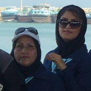 تشکر و قدردانی از سرکار خانم شهیدی و صیاد